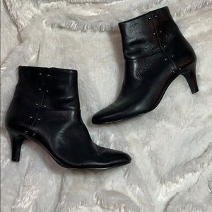 Tahari studded heeled booties